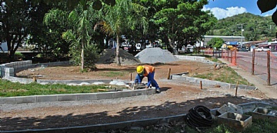 Prefeitura investe em reurbanização e reformas de áreas públicas