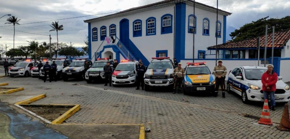 São Sebastião participa de Operação Integrada de Forças de Segurança
