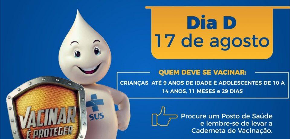 São Sebastião recebe Campanha Nacional de Multivacinação de 5 a 23 de agosto