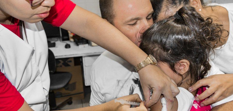 Prefeitura intensifica medidas de prevenção contra o Sarampo