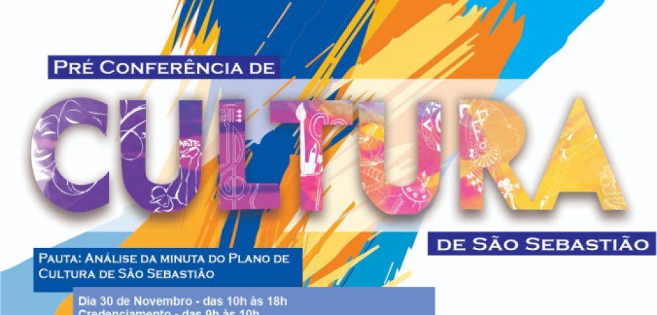 Estão abertas as inscrições para a Pré Conferência Municipal de Cultura