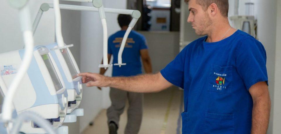 Santa Casa de São Sebastião recebe 5 novos respiradores nesta quarta-feira