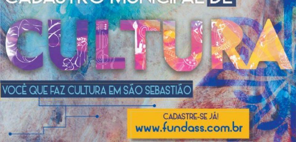 Prefeitura segue com inscrições abertas para o Credenciamento de Artistas, Profissionais de Arte e Cultura de São Sebastião