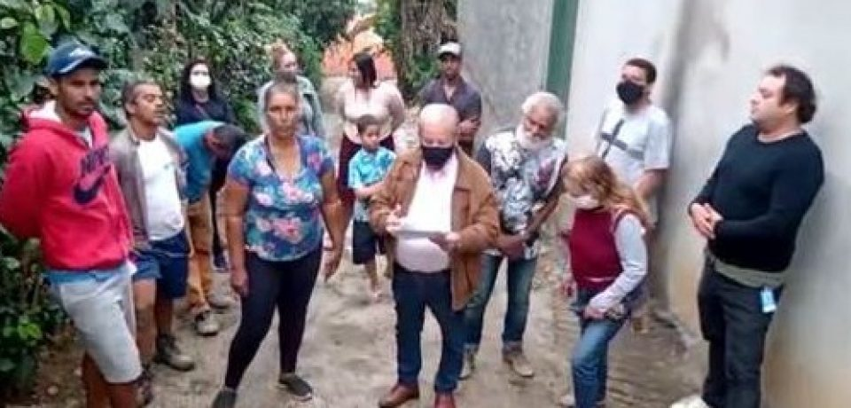 Moradores do Varadouro reagem contra fechamento de rua